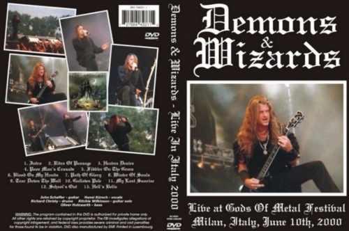 Demons & Wizards  – Live Gods Of Metal 2000 DVD