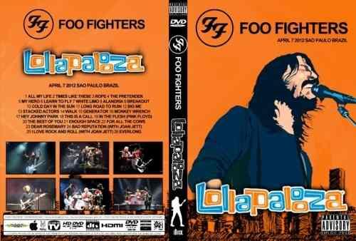 Foo Fighters - Lollapalooza Brazil 2012 DVD