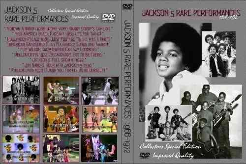 Jackson 5 – Rare Performances 1968-1972 DVD