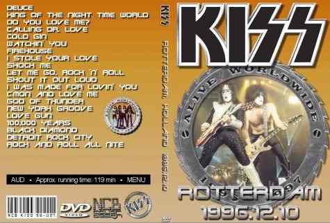 Kiss – Live Rotterdam Ahoy,Holland 1996 DVD