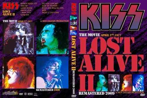 Kiss – The Lost Alive II DVD
