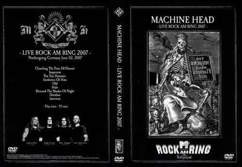 Machine Head – Live Rock Am Ring 2007 DVD