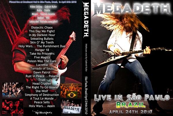 Megadeth – Live Sao Paulo Brazil 2010 DVD