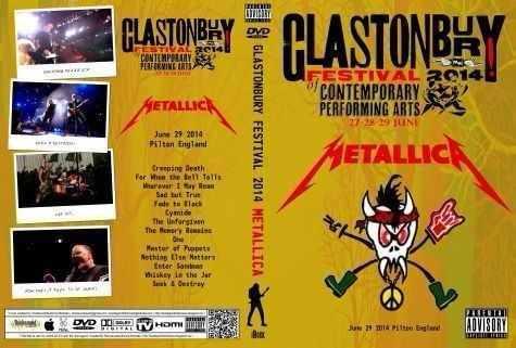 Metallica – Live Glastonbury 2014 DVD