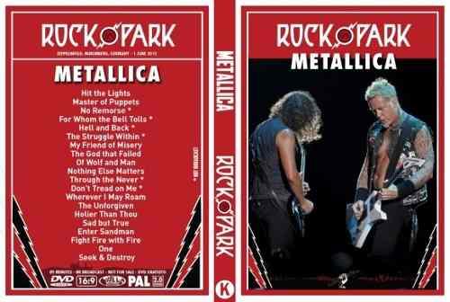 Metallica – Live Rock Im Park 2012 DVD