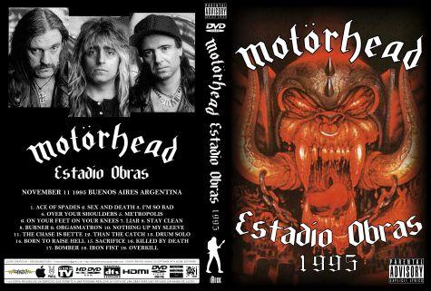 Motorhead – Live Buenos Aires, Argentina 1995 DVD