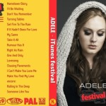 Adele – Live iTunes Festival Roundhouse 2011 DVD