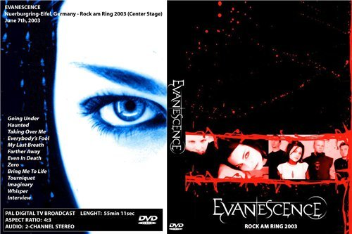 Evanescence – Live Rock Am Ring 2003 DVD