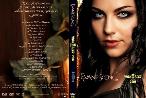 Evanescence – Live Rock Am Ring 2007 DVD