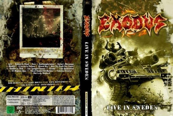 Exodus – Live Gothenburg ,Sweden 2005 DVD