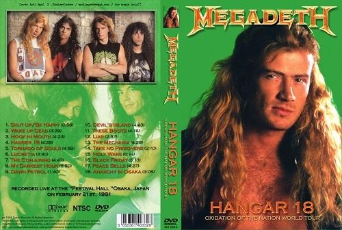 Megadeth – Live Festival Hall,Osaka, Japan 1991 DVD