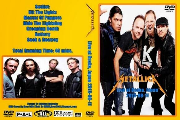 Metallica – Live at Osaka, Japan 2013 DVD