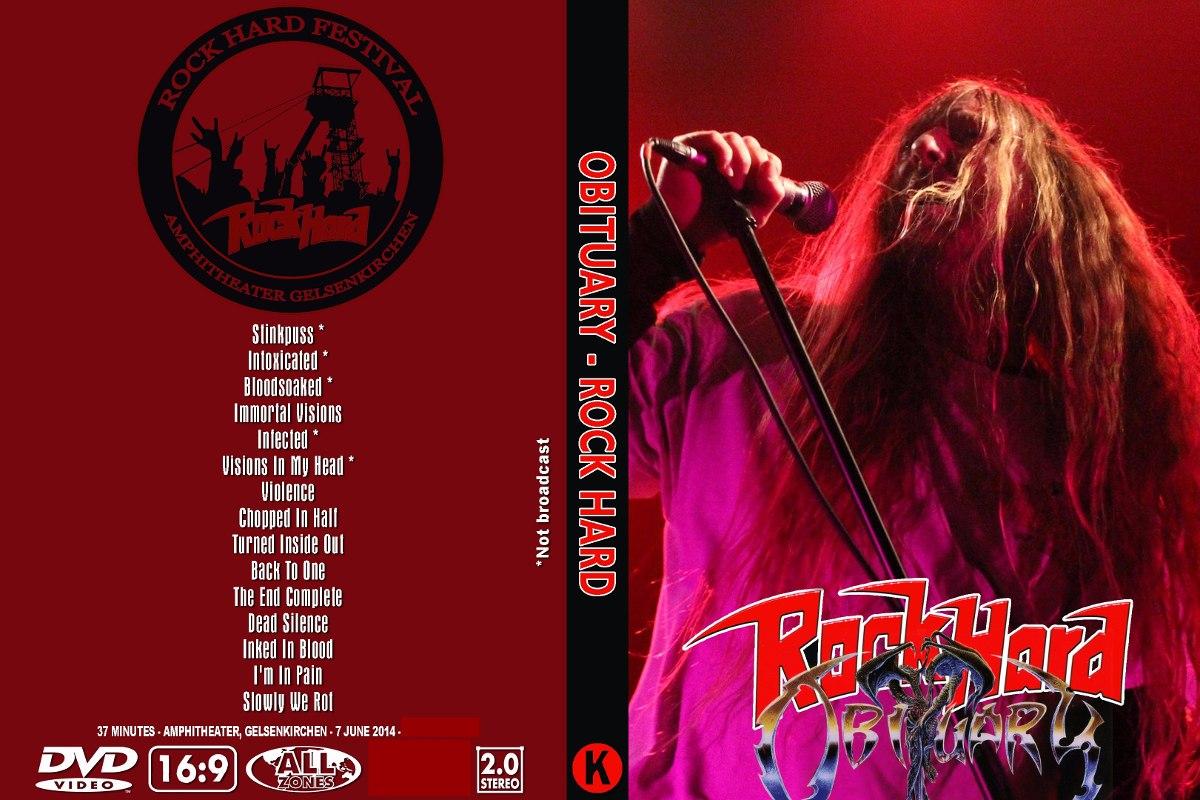 Obituary – Live At Rock Hard 2014 DVD