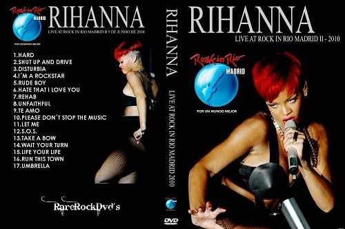 Rihanna – Rock In Rio Madrid,Spain 2010 DVD