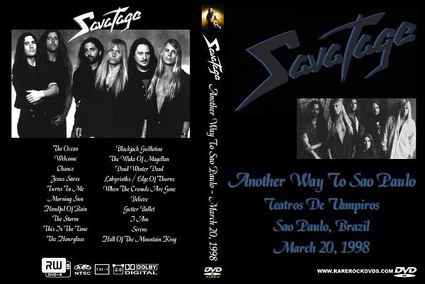 Savatage – Live in Sao Paulo 1998 DVD