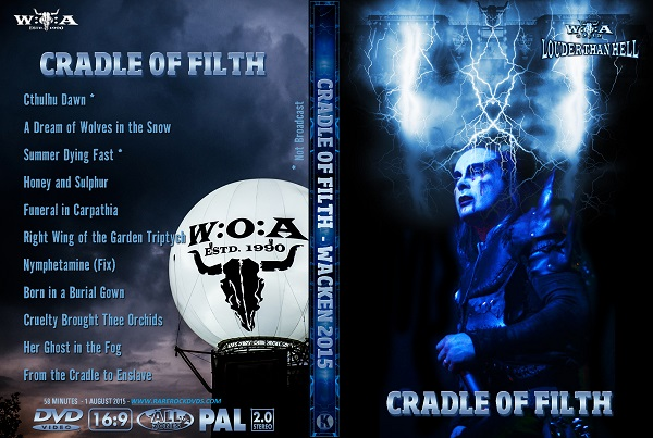 Cradle of Filth – Live from Wacken 2015 DVD