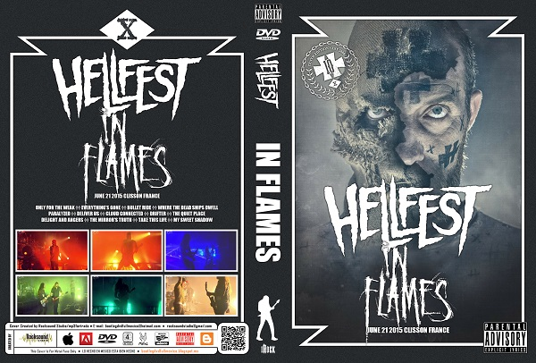 In Flames - Live Hellfest 2015 DVD