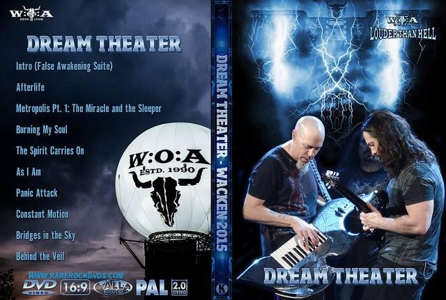 Dream Theater – Live  Wacken 2015 DVD