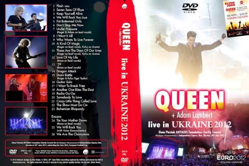 Queen + Adam Lambert - Live in Kiev, Ukraine 2012 DVD