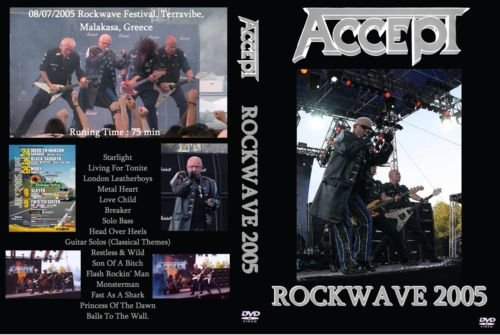 Accept – Live Greece,Rockwave Festival 2005 DVD