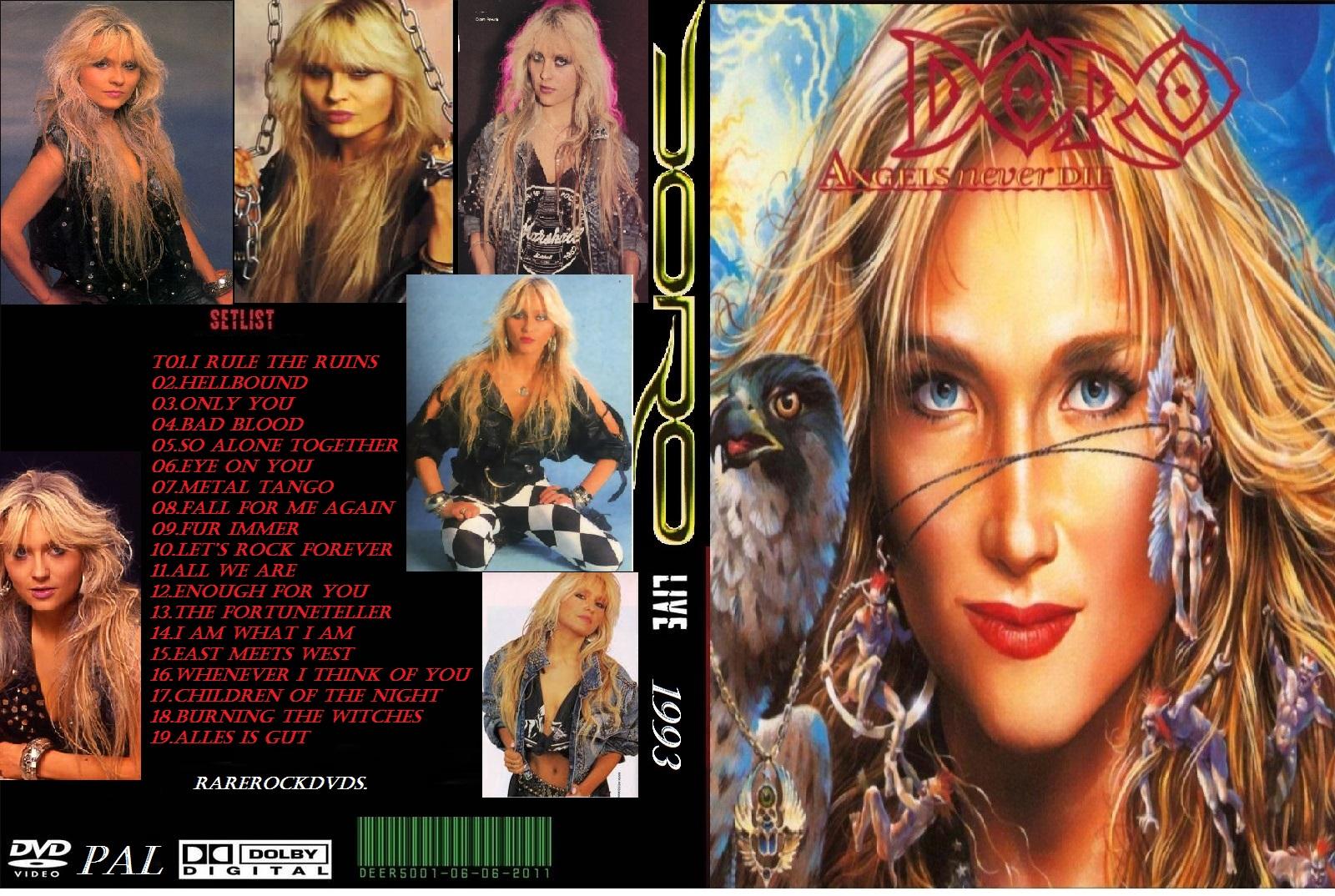Doro - Live in Hamburg 1993 DVD