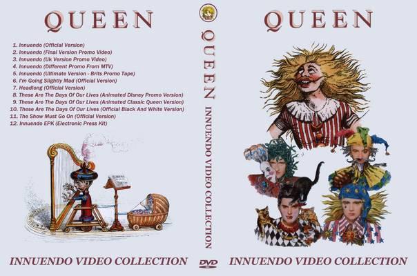 Queen – Innuendo Video Collection DVD