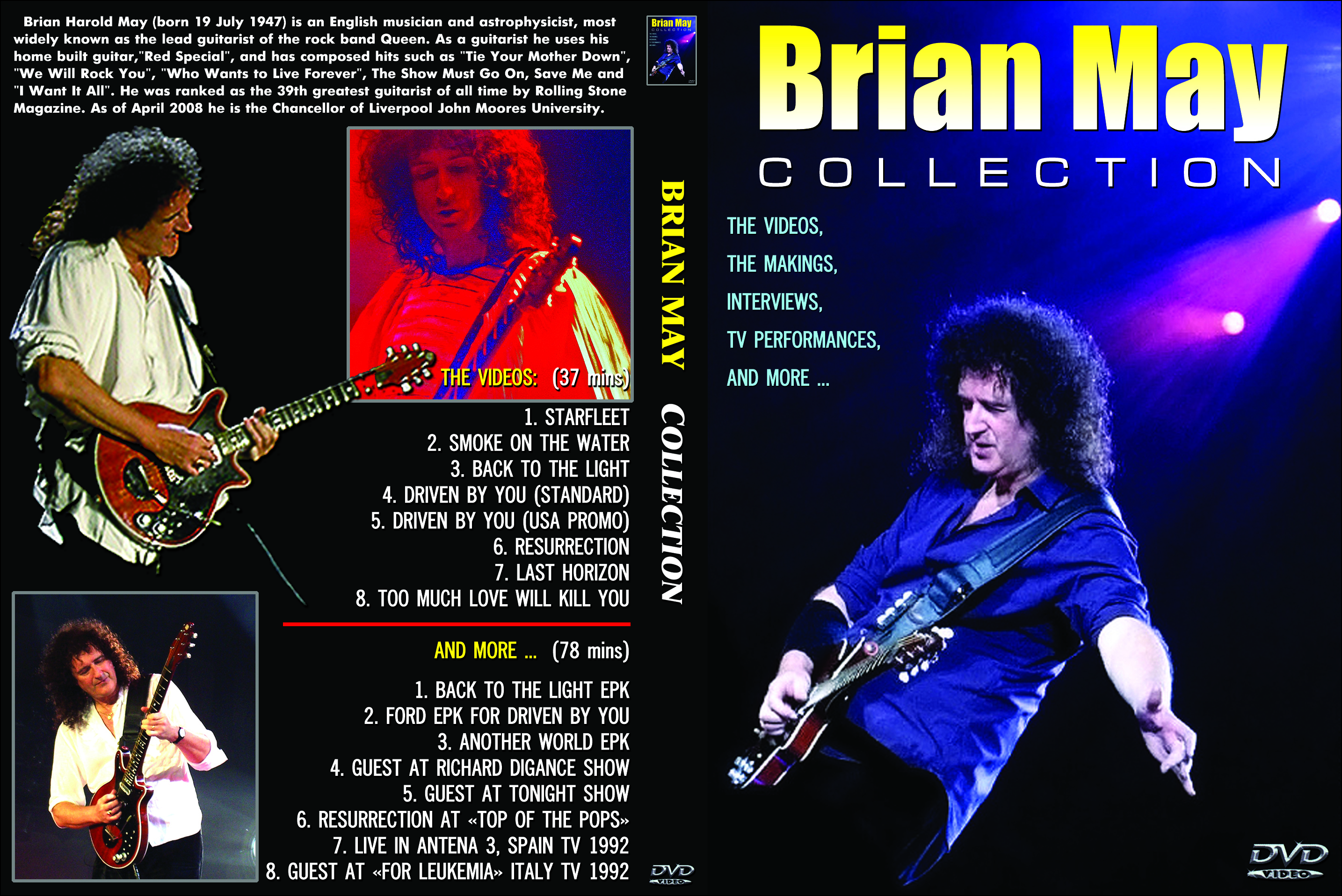 Brian May - The Video Collection DVD