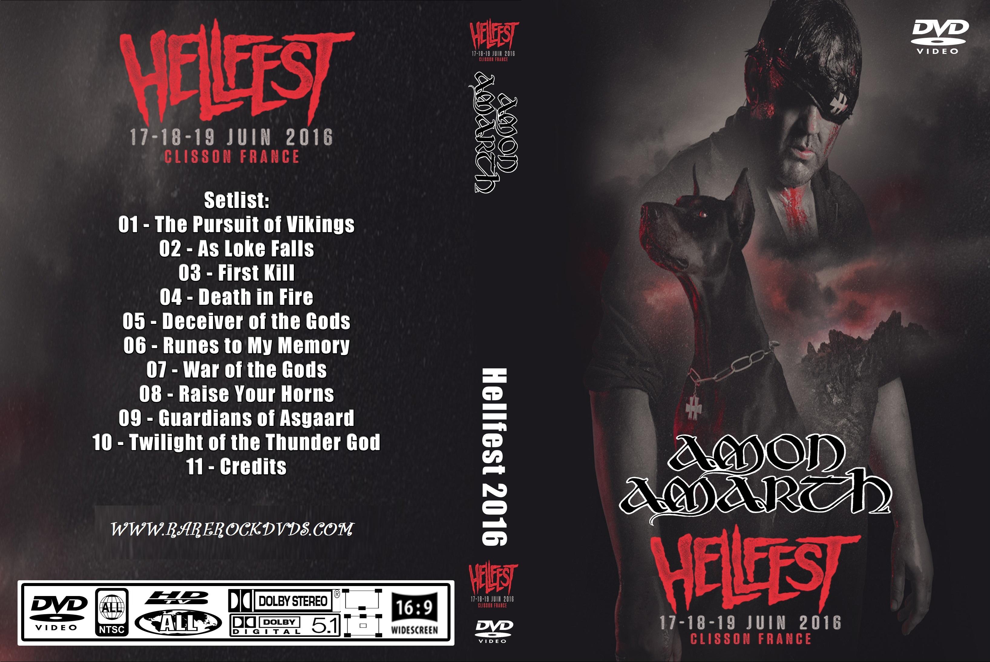Amon Amarth - Live Hellfest 2016 DVD