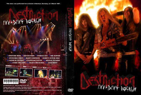 Destruction - Live In Zeche Bochum Germany 1987 DVD
