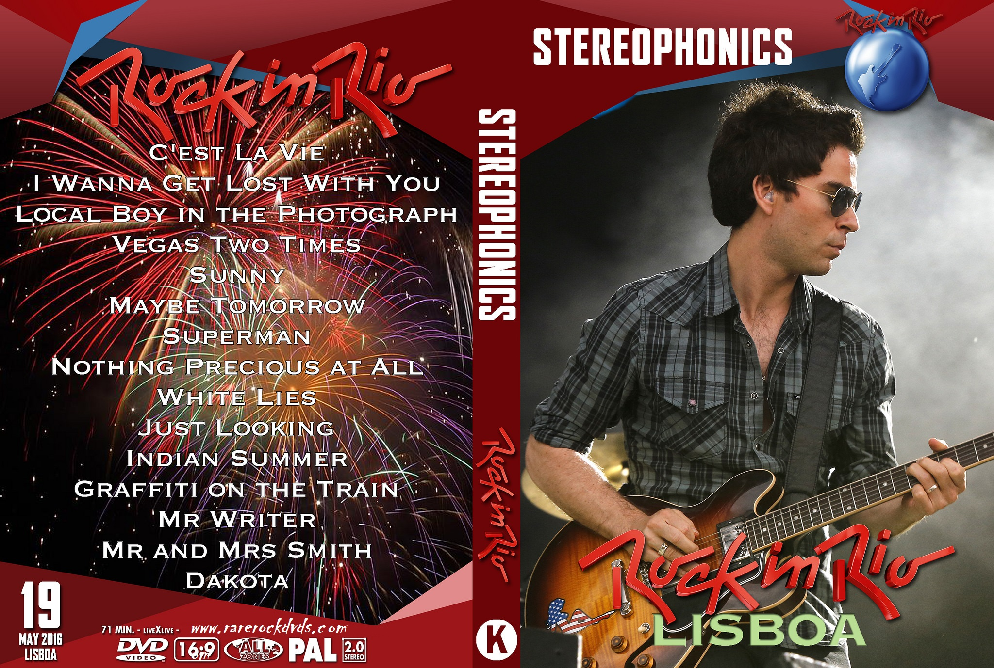 Stereophonics - Rock in Rio Lisbon 2016 DVD
