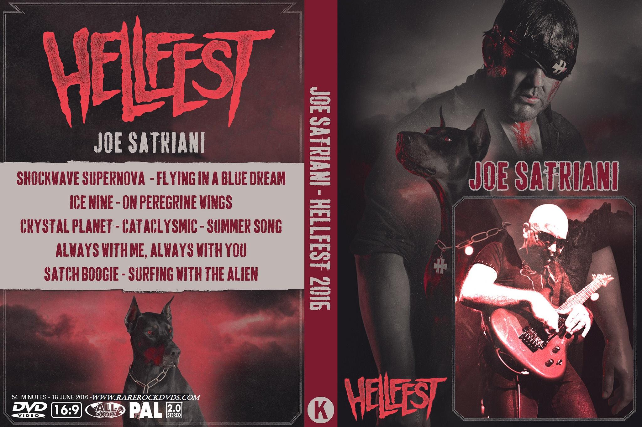 Joe Satriani - Live Hellfest 2016 DVD