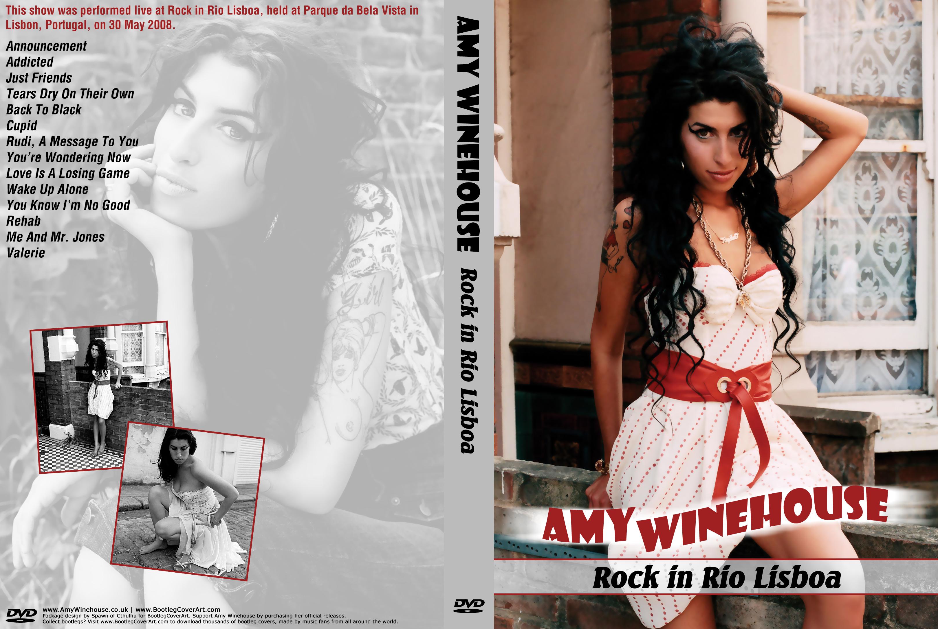 Amy Winehouse - Live Rock In Rio 2008 DVD