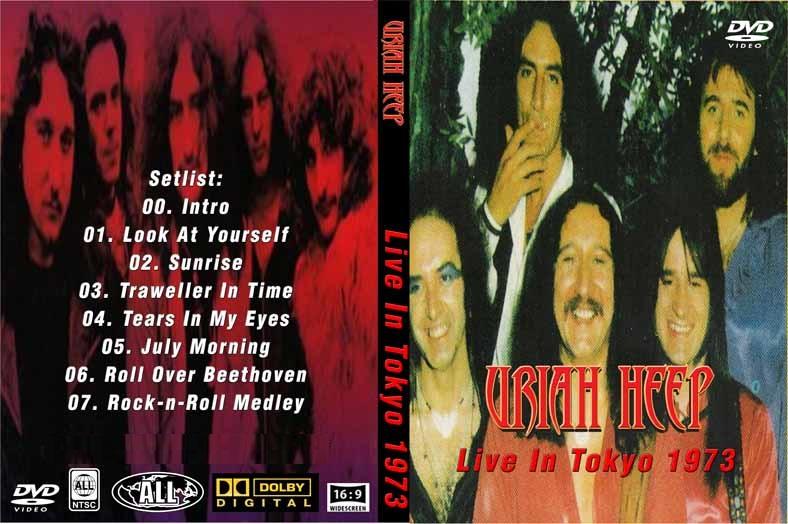 Uriah Heep Live In Japan 1973 Dvd Rare Rock Dvds