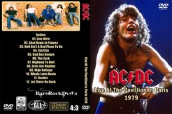 AC/DC - Live At The Pavillion In Paris 1979 DVD