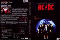 AC/DC & RUSH - Live Toronto Canada 2003 DVD