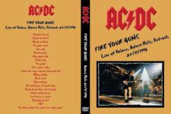AC/DC - Live Detroit USA1990 DVD
