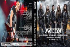 Accept - Live Kemerovo Russia 2019 DVD