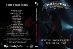 Foo Fighters - Live Rock En Seine France 2005 DVD