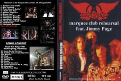 Aerosmith with Jimmy Page- Live at the Marquee Club 1990 DVD