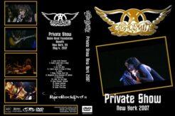 Aerosmith - Private Show 2007 DVD