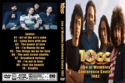 10CC - Live at Wembley Conference 1982 DVD
