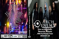A-E - Live at GlavClub Moscow 2019 DVD