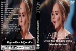 Adele - Live in New York City Extended Version 2015 DVD