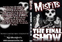 Misfits - Final Show Live Detroit 1983 DVD