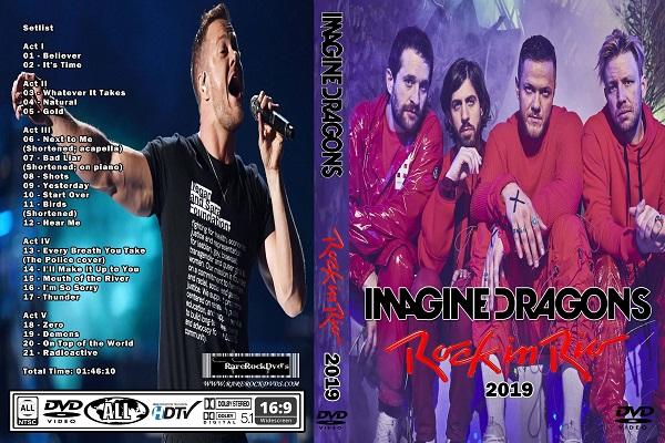 Imagine Dragons – Live Rock In Rio 2019 DVD