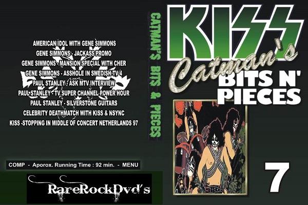 Kiss – Catman's Bits N' Pieces Vol 7 DVD