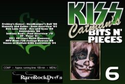 Kiss - Catman's Bits N' Pieces Vol 6 DVD