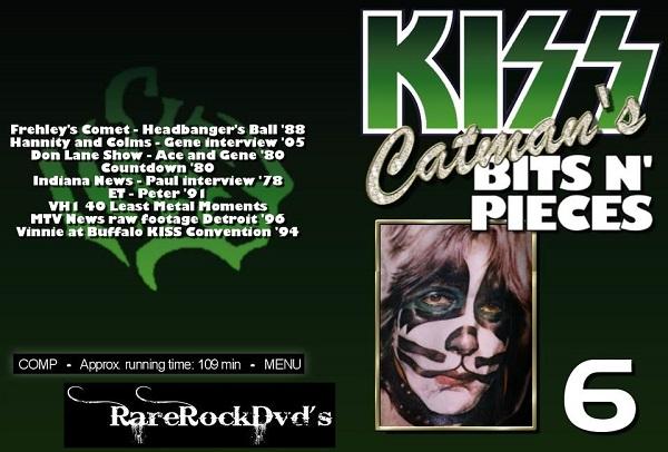 Kiss – Catman's Bits N' Pieces Vol 6 DVD