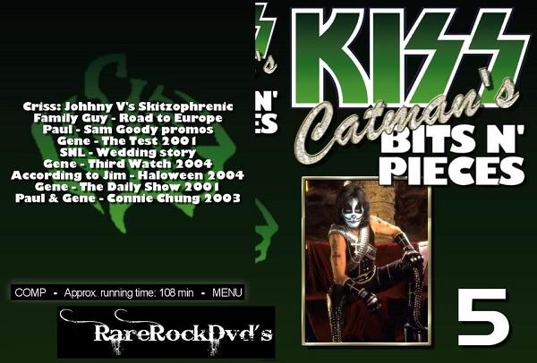Kiss – Catman's Bits N' Pieces Vol 5 DVD