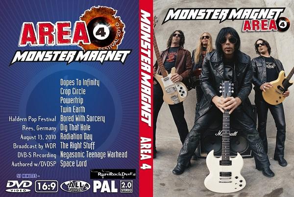 Monster Magnet – Ludinghausen AREA4 Festival 2010 DVD